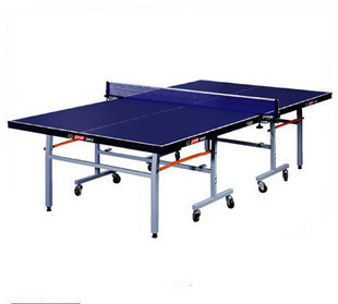 Dhs/dhs table tennis table t2023 mobile folding table tennis table