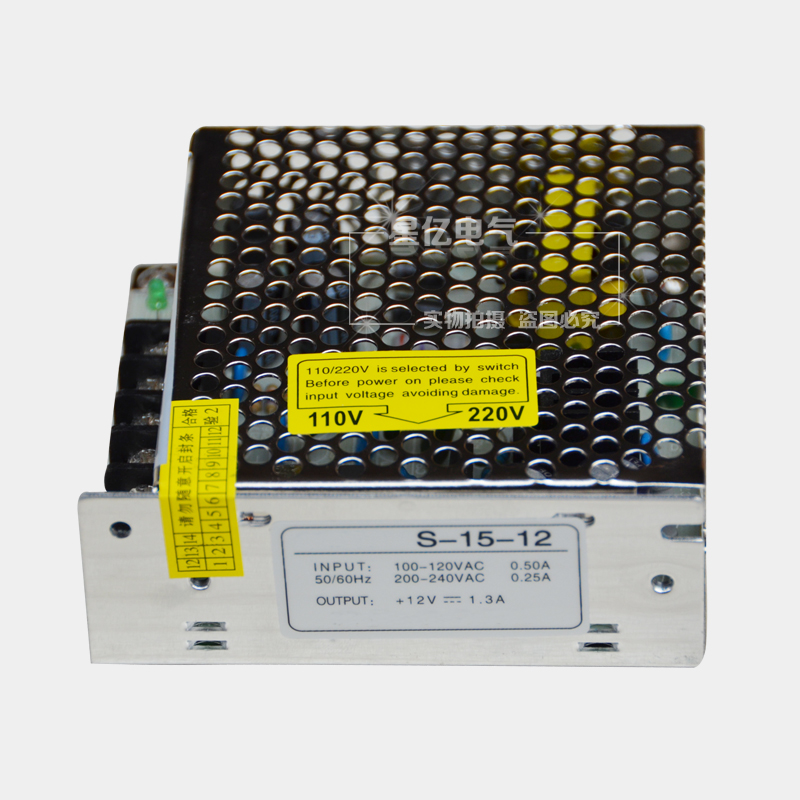 S-15-12 switching power supply ac to 12 v power supply dc12v 15 w led switching power supply transformer