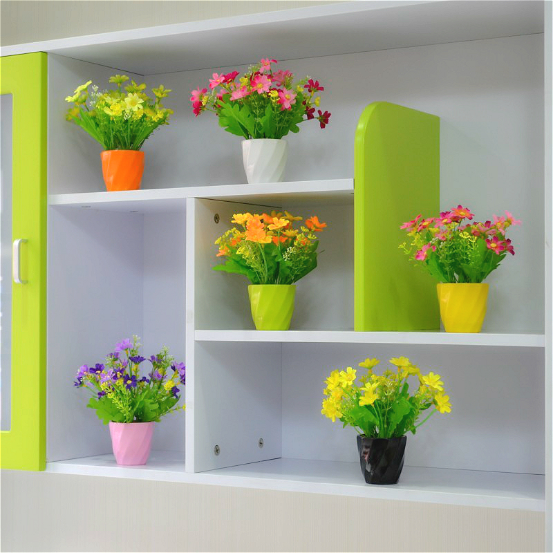 China mini artificial plants china mini artificial plants shopping get quotations small pots mini roses artificial flowers suit the living room decorative plants fake silk flower placed mightylinksfo