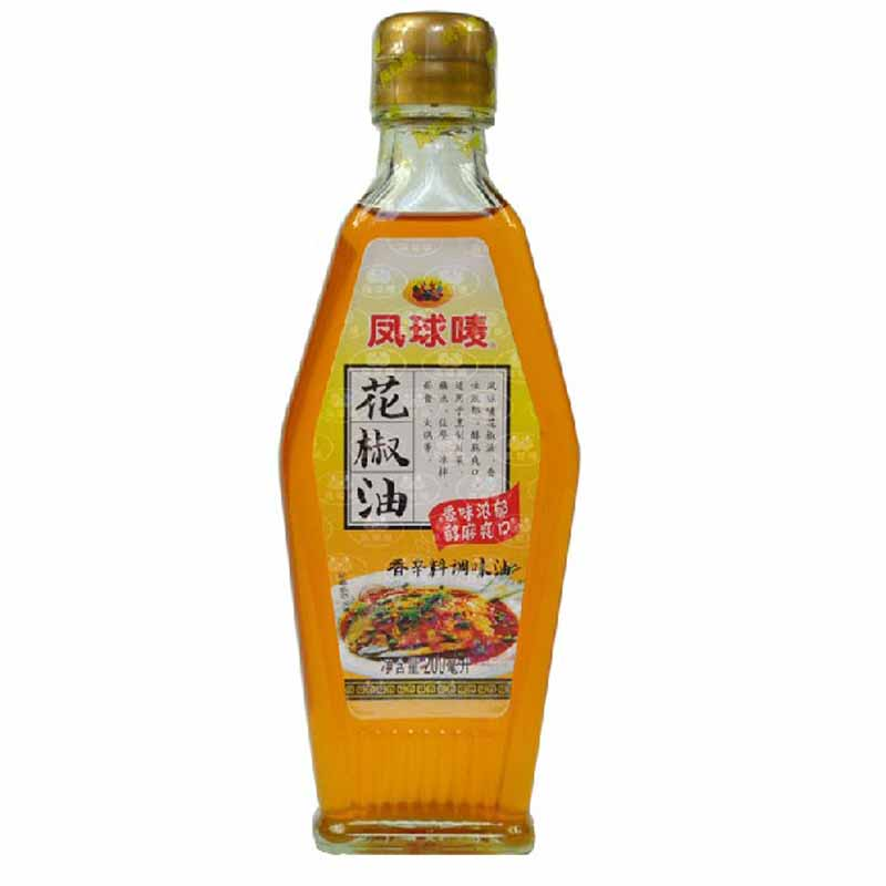 [Lynx supermarket] phoenix globe pepper oil 200 ml/bottle top hanyuan pepper sichuan essential seasoning Material