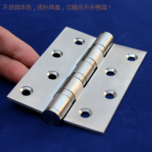Excellent attain 304 stainless steel mute bearing hinge/hinge door leaflet folding doors of 4 inch/piece