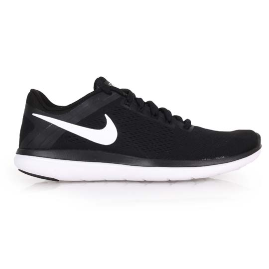 Nike flex 2016 rn running light black and white running shoes men running shoes-way @ 830369001 @