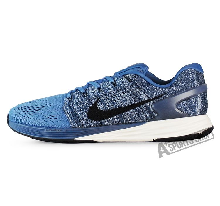 73264914d0ad Get Quotations · Nike (male) nike running shoes nike lunarglide 7  blue-747355403
