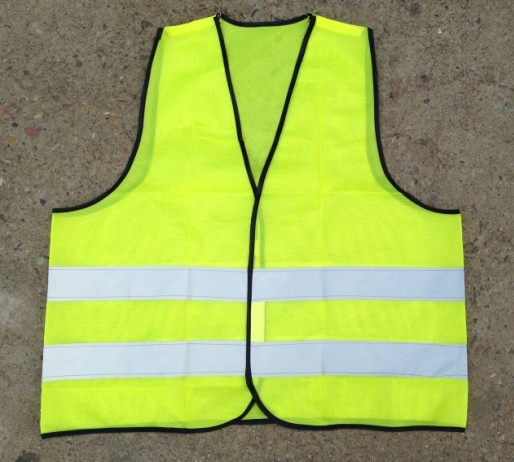 Green color silver reflective fabric reflective vest warning clothing reflective vests reflective safety clothing reflective clothing sanitation