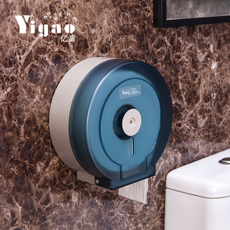 Million high hanging large roll holder toilet paper cassette toilet roll holder hotel market paper roll holder