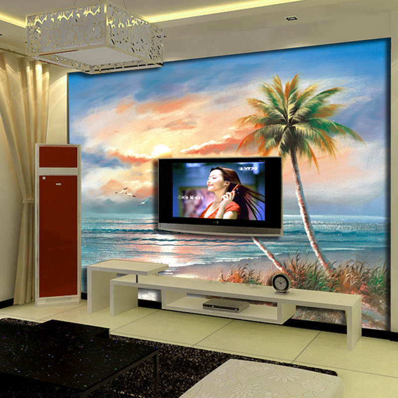 Large mural european home decorative wall about professional background living room sofa tv wall wallpaper wall covering wallpaper