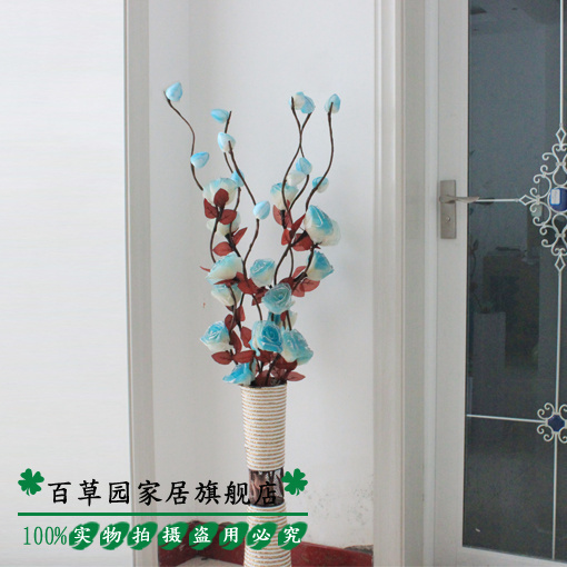 Bluelover vein dried flowers dried flowers artificial flowers dried flowers decorated the living room floor dry branches artificial flowers mikie