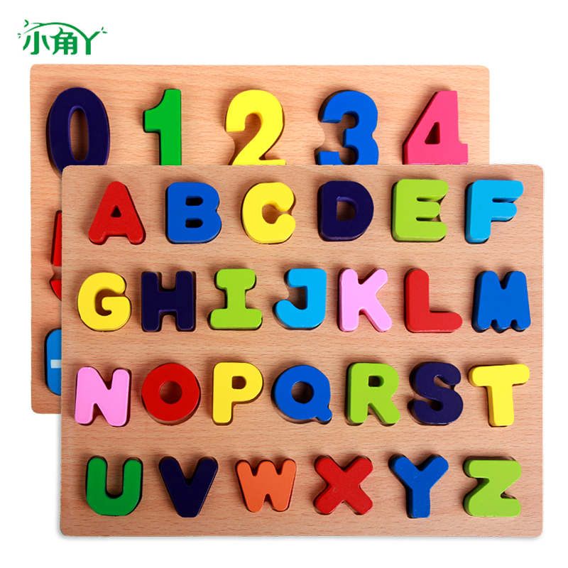 2-3-4-5-6-year-old jigsaw puzzle toys for children boys and girls three-dimensional shape shaped plot wooden jigsaw puzzle early childhood educational force treasure