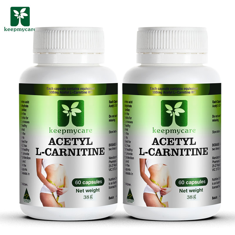 2 bottled australia direct mail carnitine slimming burn fat suppress appetite control capsules tablets genuine
