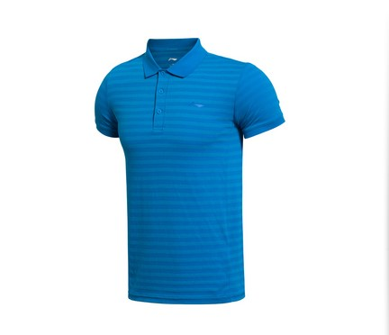 [2015] li ning new training series men short sleeve polo APLK087-5