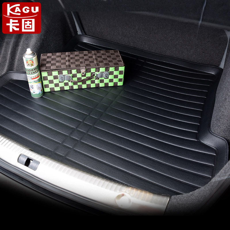 2015 models honda odyssey platinum core ming si sidi feng fan modified dedicated trunk mat trunk mat after Pad