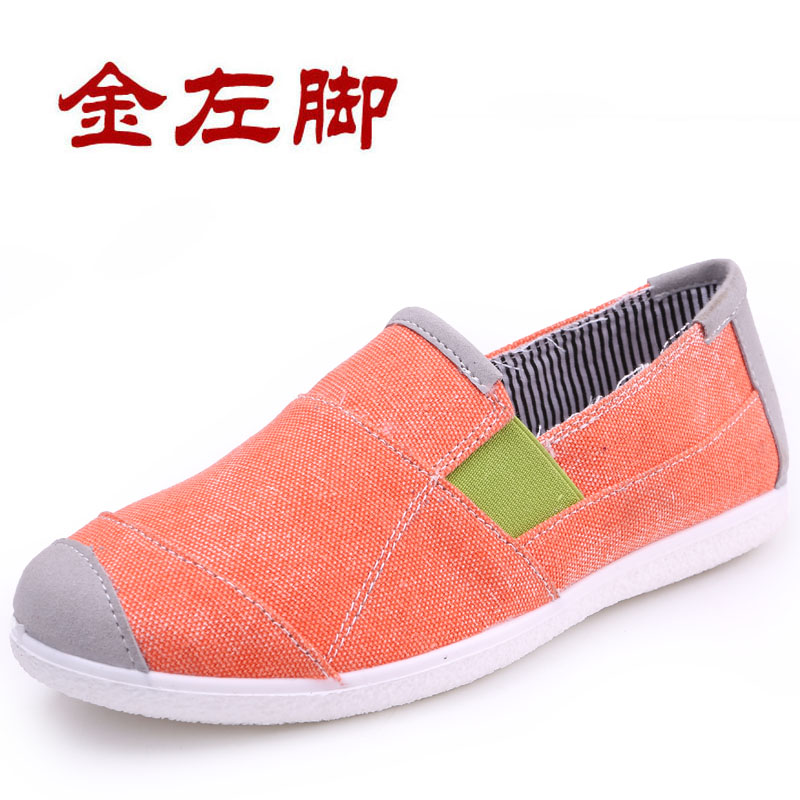 2015 new women's spring shoes authentic old beijing shoes with flat shoes casual shoes breathable soft bottom women's shoes