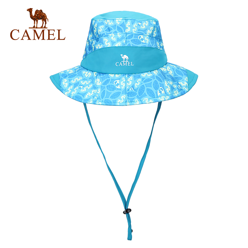 [2016 new] camel camel outdoor female models breathable outdoor hat printing comfortable wicking hat