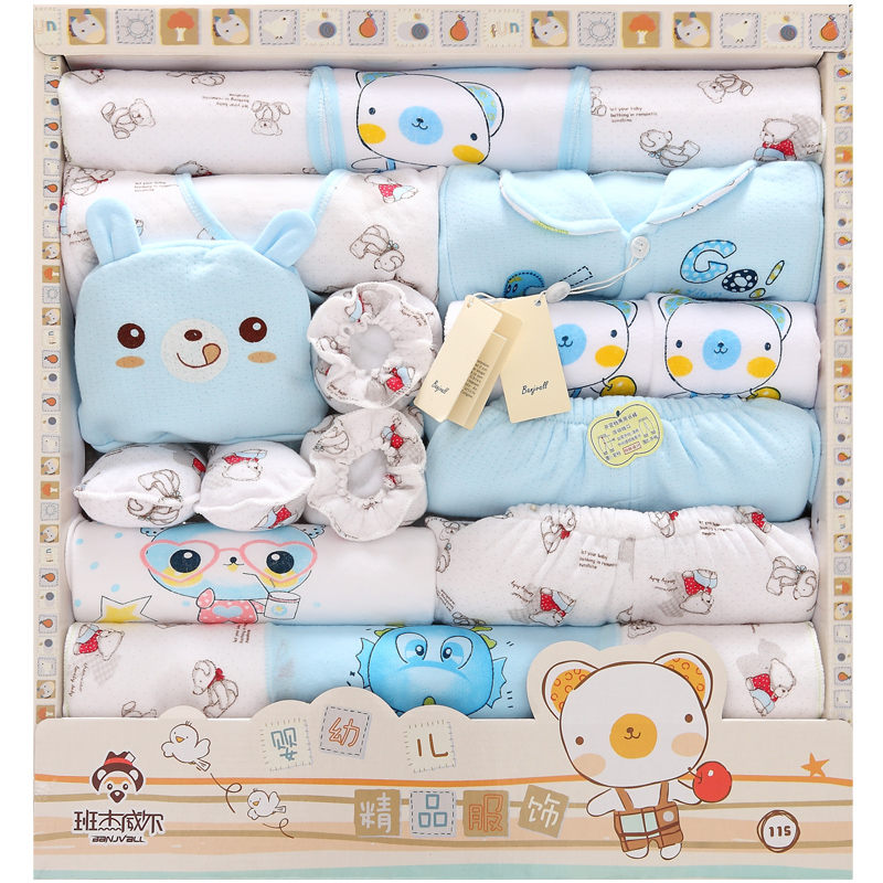 2016 new cotton baby clothes newborn gift newborn baby clothing supplies a new born baby underwear free shipping