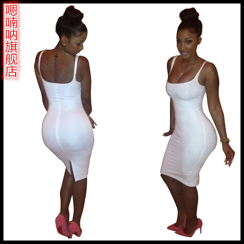 2016 new european and american nightclub club sexy strapless thin lufthansa new bar posh dress stage costumes