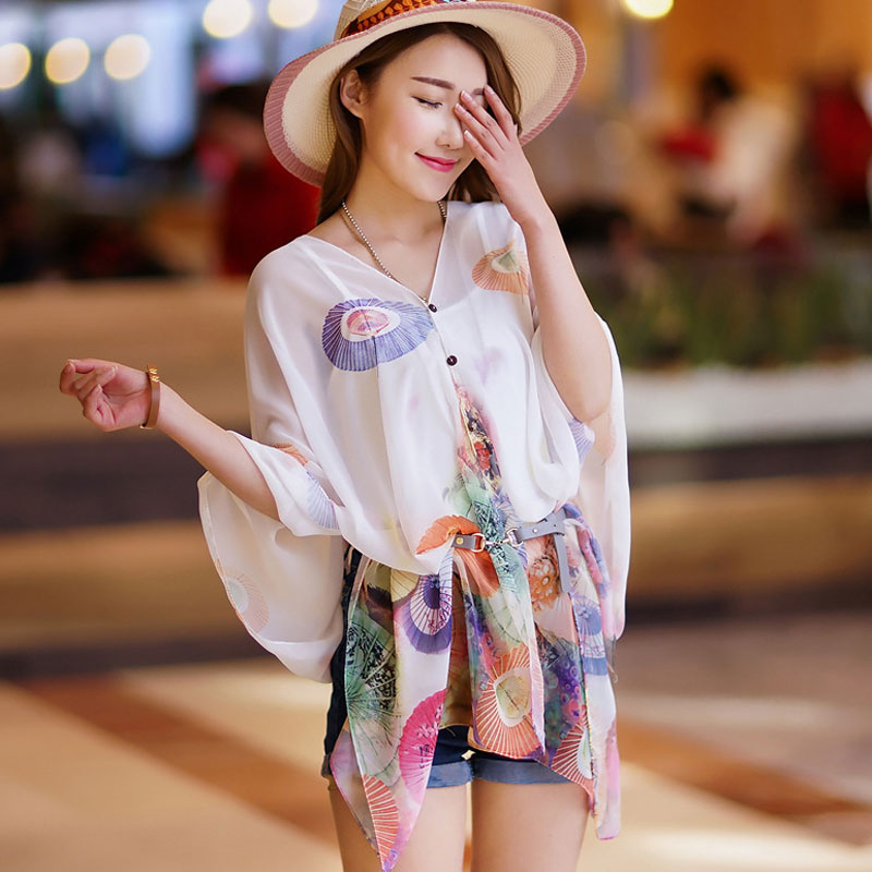 2016 new korean spring chiffon scarf dual female wild summer sun shawl scarves korean version of the sand