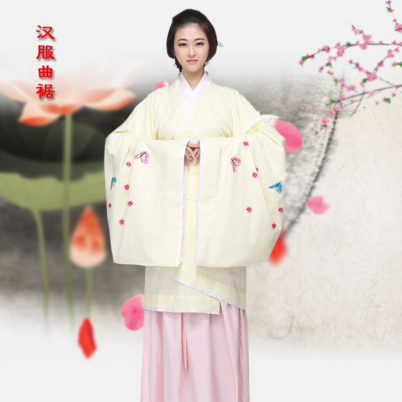 2016 new men's han chinese clothing ladies garment qu han chinese clothing costume costume han chinese women improved costume han chinese clothing garment song