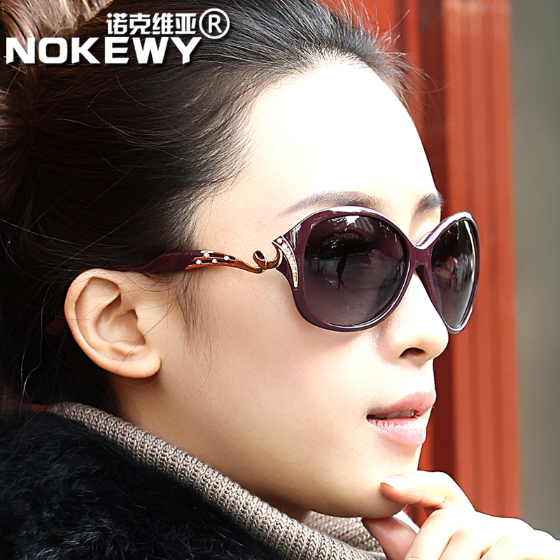 2016 new ms. sunglasses fashion sunglasses polarizer tide elegant fashion sunglasses retro sunglasses star models