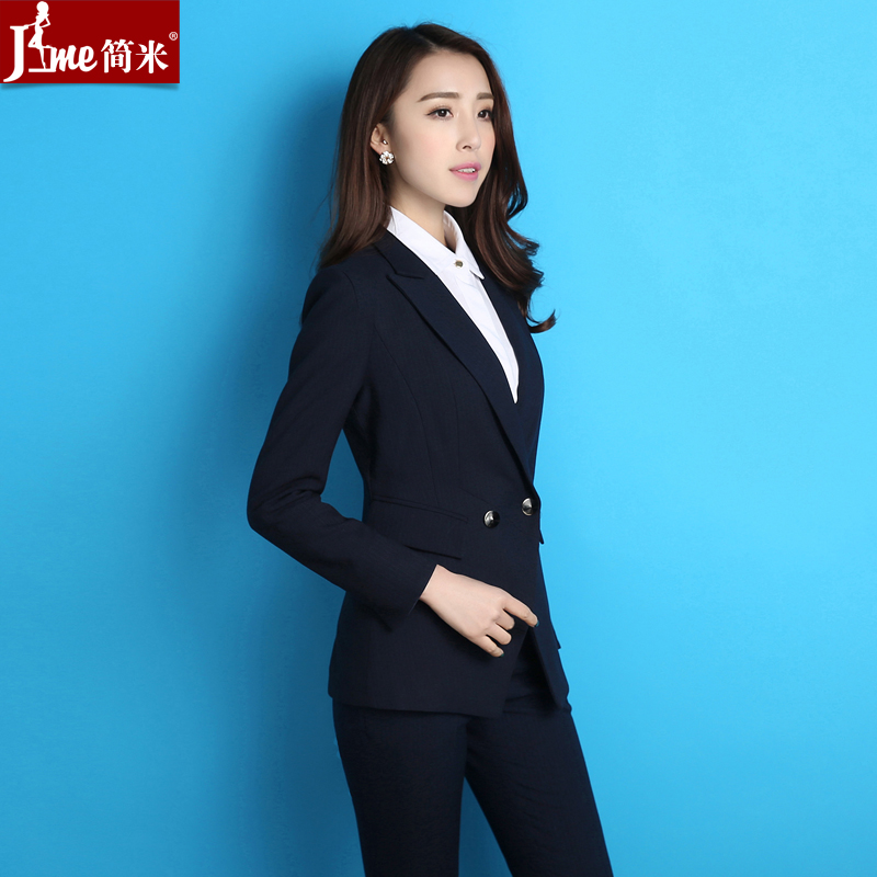 2016 new professional women fashion women's wear suits chaps ol konishi sleeved dress suits overalls autumn