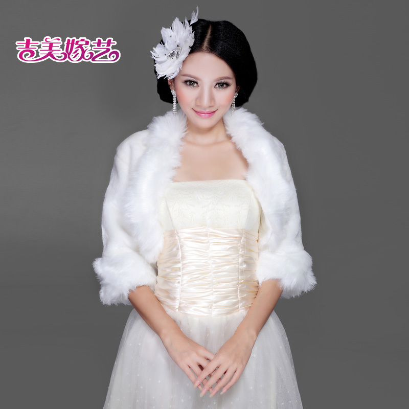 2016 new wedding shawl wool shawl bride dress accessories korean suit winter pj10 20 bride wedding shawl