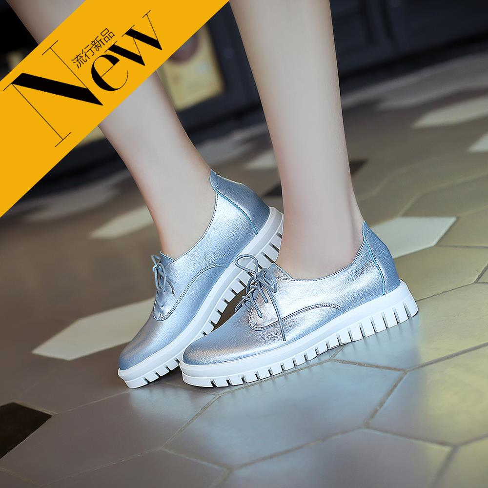 2016 spring leather shoes women summer casual shoes wild shoes flat shoes shallow mouth singles shoes casual shoes summer 003-7