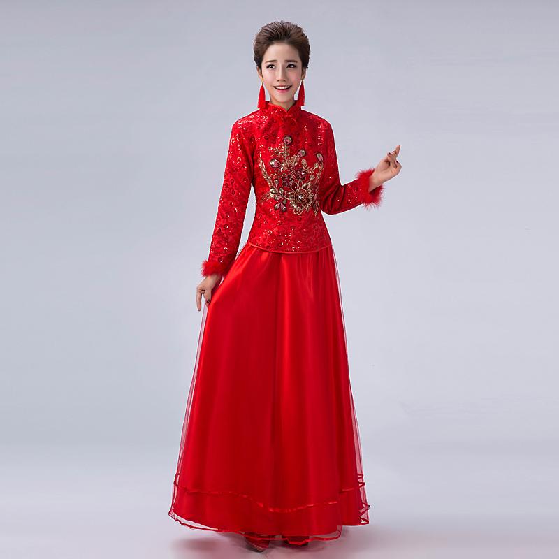 9dafd3f1f Get Quotations · 2016 spring new children dress wedding dress the bride  toast clothing improved cheongsam cheongsam dress retro