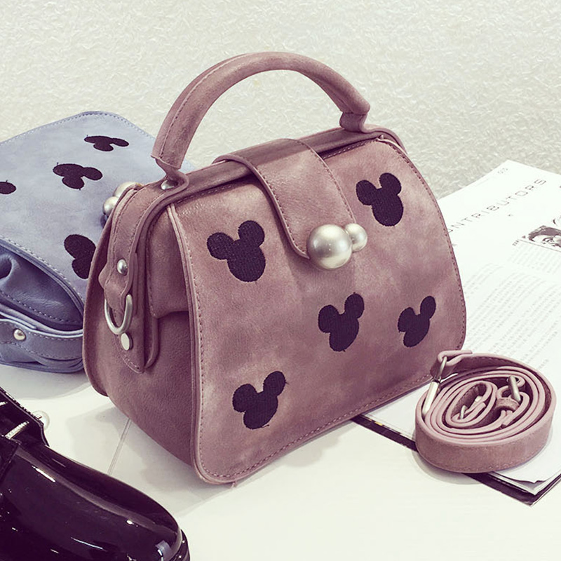 2016 summer new european and american fashion messenger bag small bag cute cartoon doctor bag simple portable shoulder bag handbag