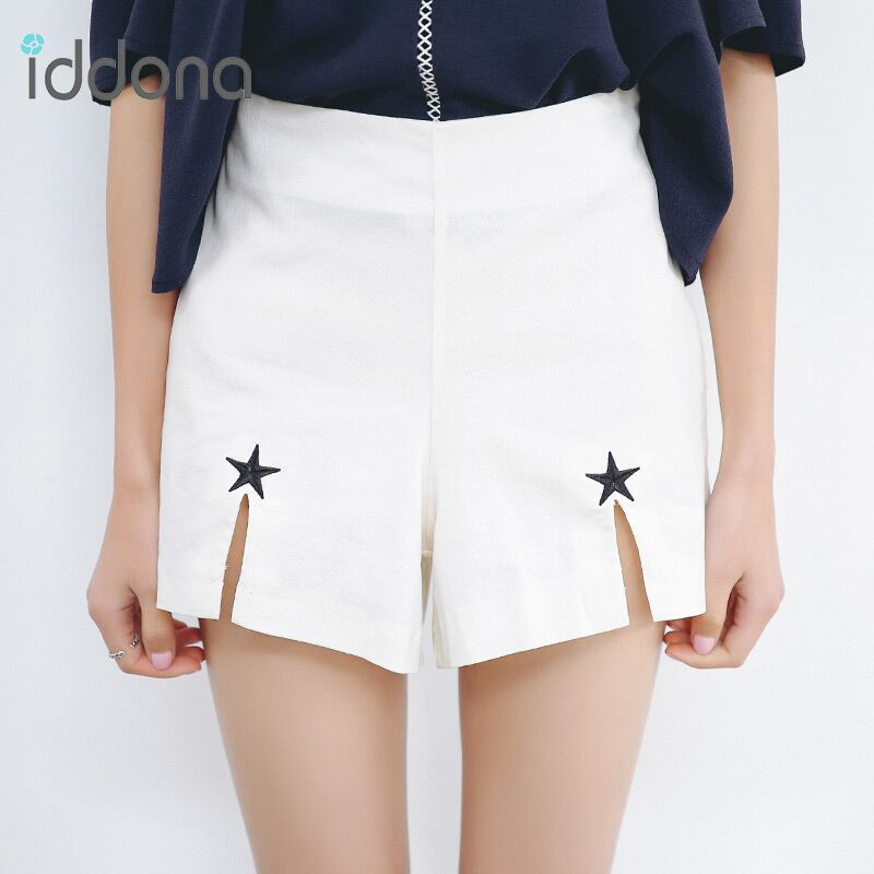 2016 summer new korean high waist shorts female student was thin shorts shorts female korean institute of wind loose