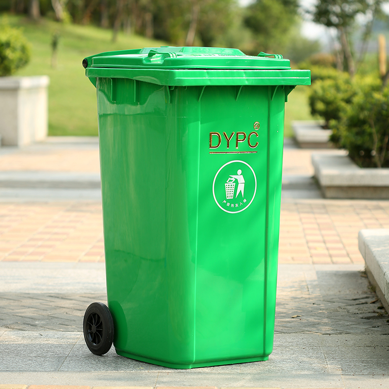 240 liter plastic trash sanitation trash bins outdoor trash garbage bin trash trash queen