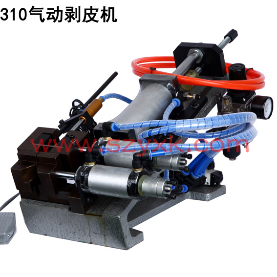 305 310 315 pneumatic stripping machine peeling machine stripping machine pneumoelectric type cable stripping machine peeling machine peeling machine