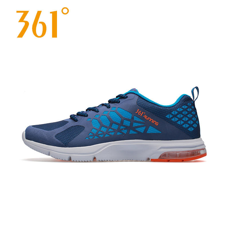 361 degree men's 2016 spring and summer sports shoes breathable mesh running shoes 361 air cushion running shoes 571612230