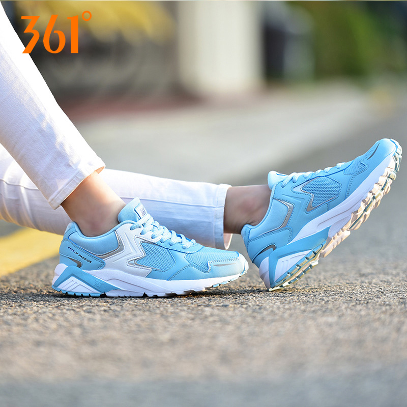 361 degrees shoes authentic 361 fall breathable mesh sneakers casual shoes student shoes retro running shoes light will be