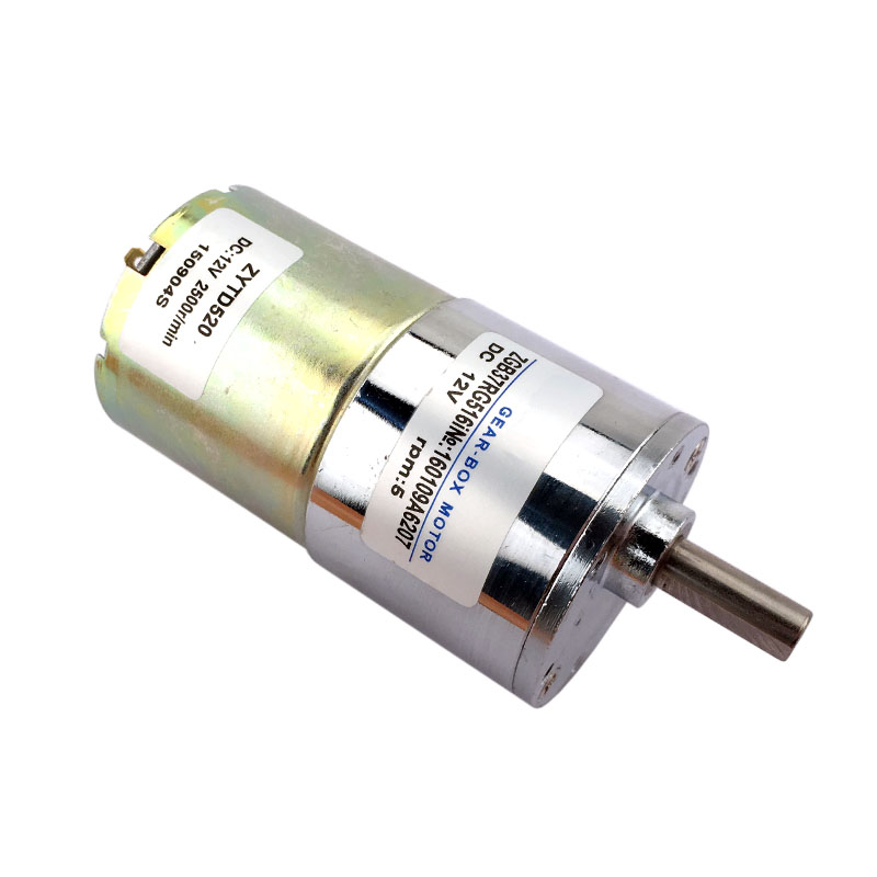 37mm dc12v 5 rpm high torque dc geared motor speed reversible motor ZGB37RG516i