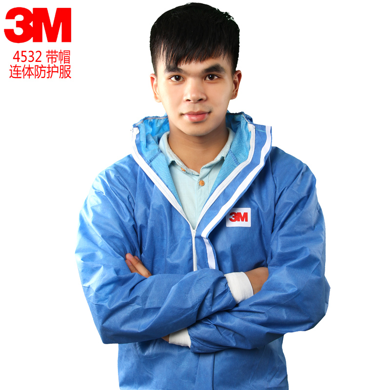 3m 4532 radiation protective clothing chemical protective clothing painting clothes dust particles blue