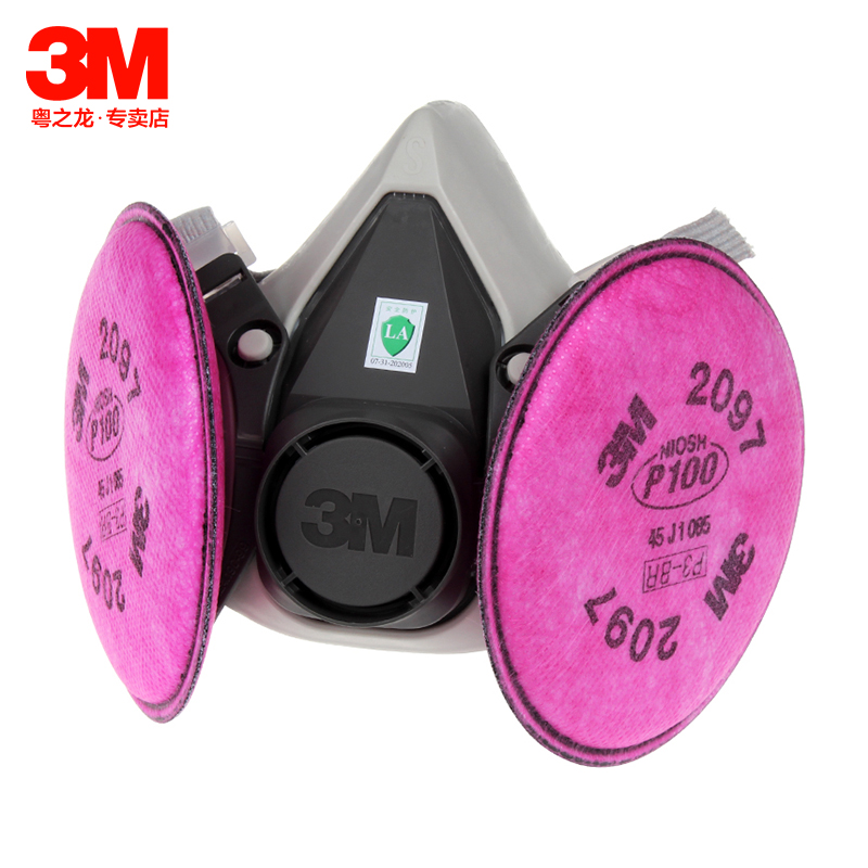 3m6200 with 2097 suits welding welding smoke masks dust masks protective mask organic vapor