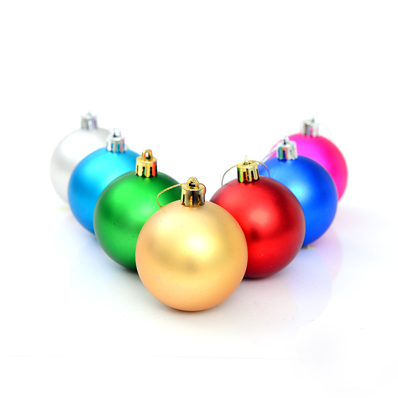 4 cm 5 cm 6cm matt ball christmas ball christmas ball christmas tree ornaments christmas decorations hotel