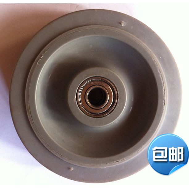 5 double bearing mute rubber tpr caster wheel double bearing caster wheel wheels silent wheels