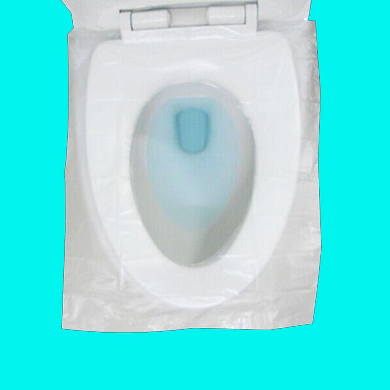 50 piece toilet toilet seat cover disposable plastic waterproof toilet toilet mat travel travel essential