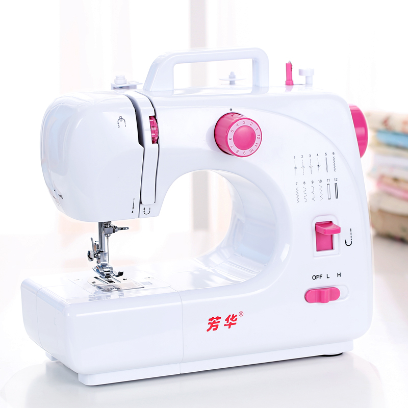 508 youth household electric sewing machine multifunction mini mini desktop with a sewing machine pedal to eat thick catcher