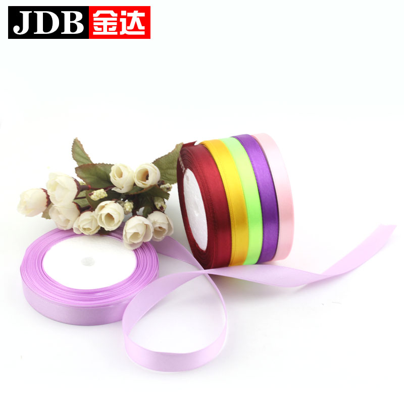 5cm silk bandwidth 13.358kj fine red ribbon ribbon ribbon diy gift packing tape