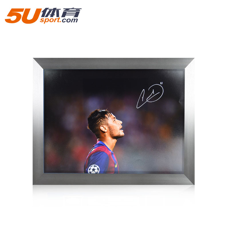 5u sports icons in the greater china region acting neymar barcelona neymar photo autographed signature