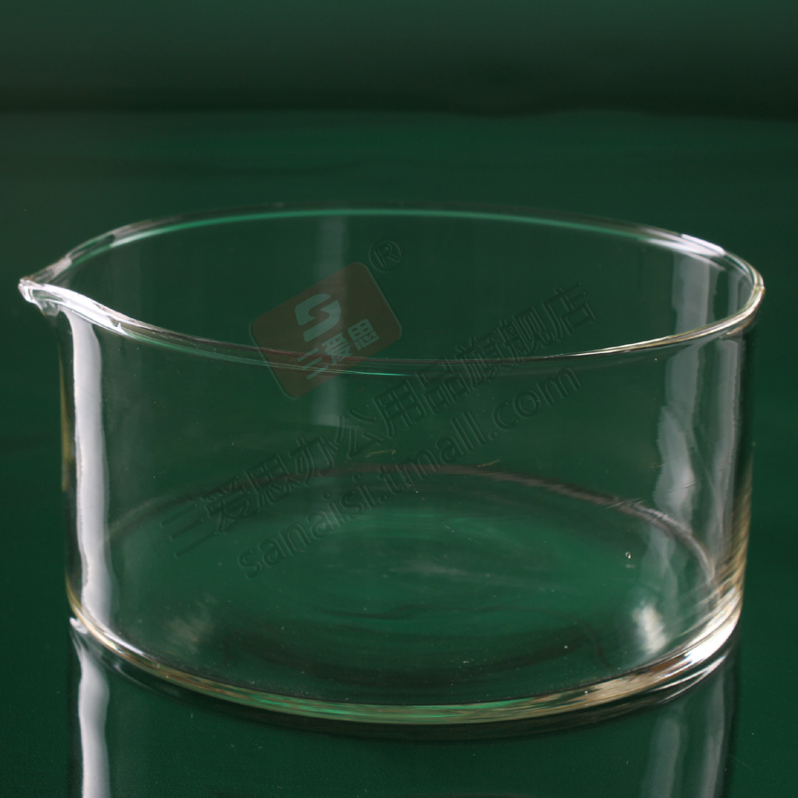 60mm diameter glass crystallizing dish with mouth flat dish can be high temperature treasurer recommended