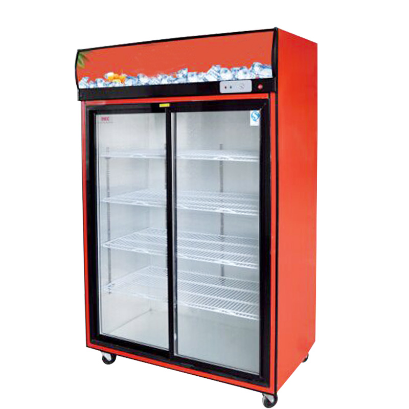 Get Quotations · 738L First Kitchen Sliding Door Sliding Door Next Door  Commercial Freezer Vertical Refrigerated Glass Display Cabinet