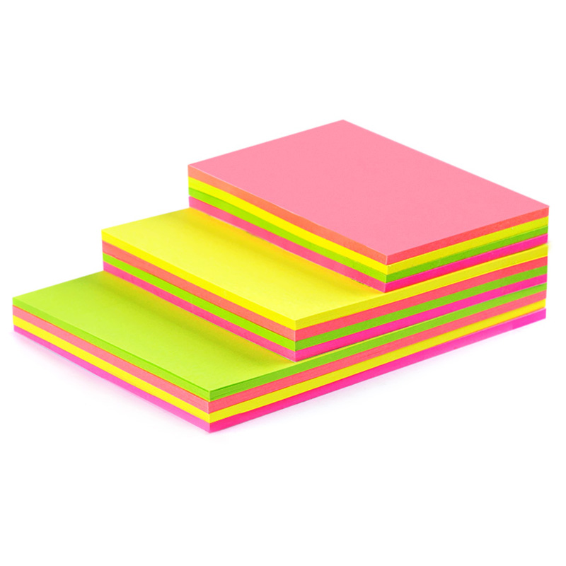 A broad range of fluorescent office guest article sticky notices posted notices posted notes this article notes stickers 4 colors they can be sticky