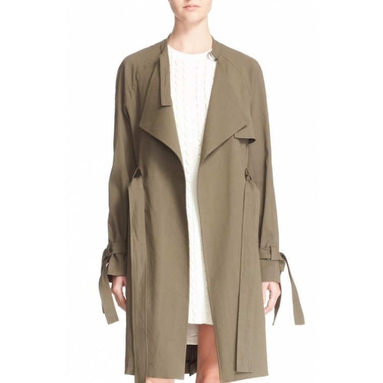 A. l. c. women's coat Q02016012 army