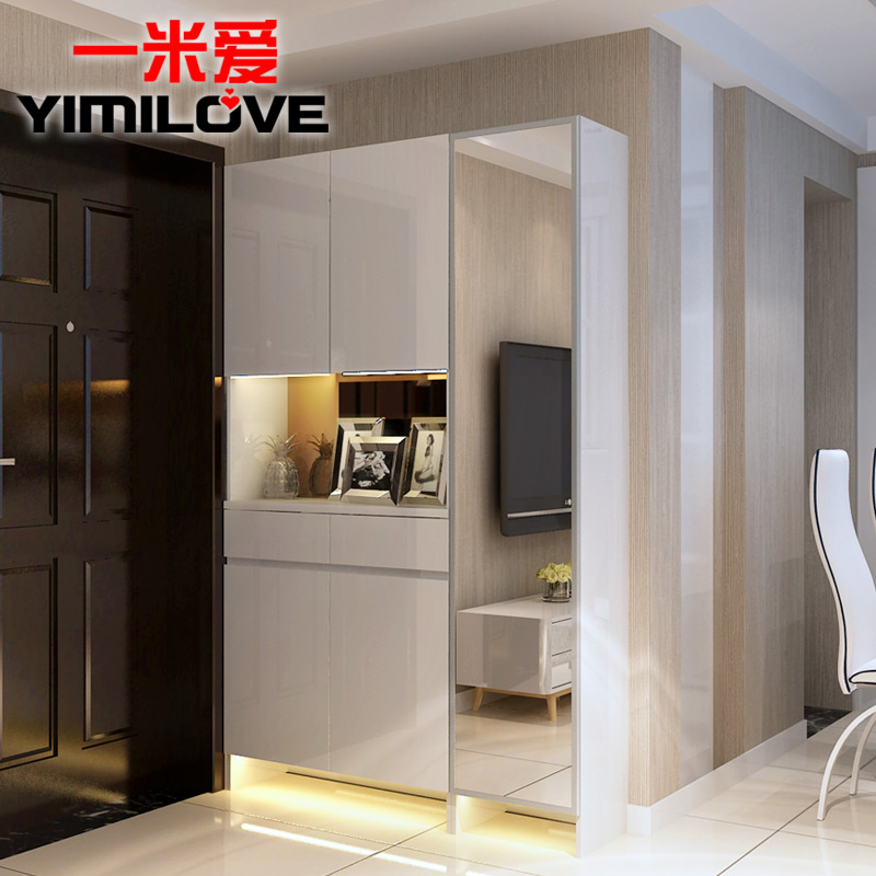 A Love Modern Minimalist Foyer Shoe Storage Cabinet Entrance Door Off The  Living Room Cabinet Lockers