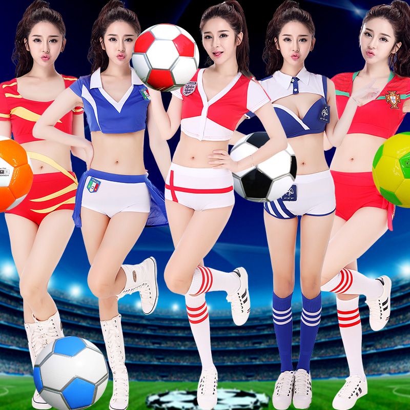 A variety of new national team argentina national football cheerleader costume baby ladieswear sense of european cup jersey