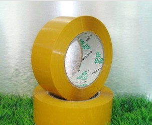 A variety of specifications 5.44mpa yellow sealing tape sealing tape 4.5 cm 5CM wide flesh about 15mm