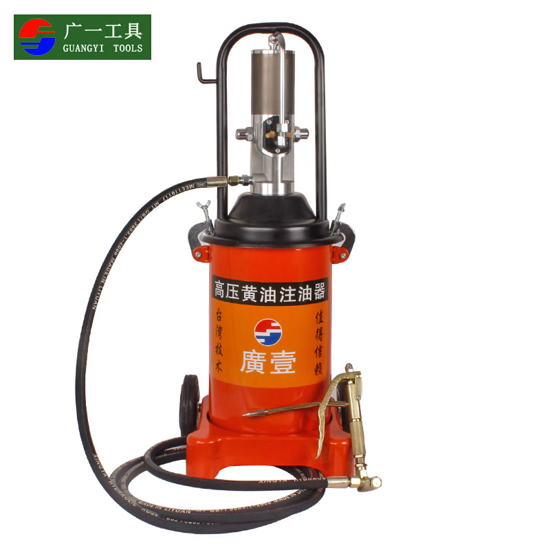 A wide high pressure oiler grease gun butter machine pneumatic 12l large capacity oiling machine butter gun pneumatic tools