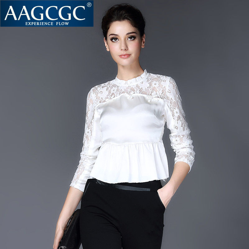 Aagcgc end custom bow bottoming slim was thin long sleeve large size women solid color 7245